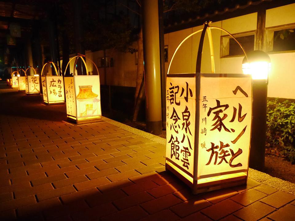 「ヘルンと家族」は小泉八雲記念館で開催中の企画展
