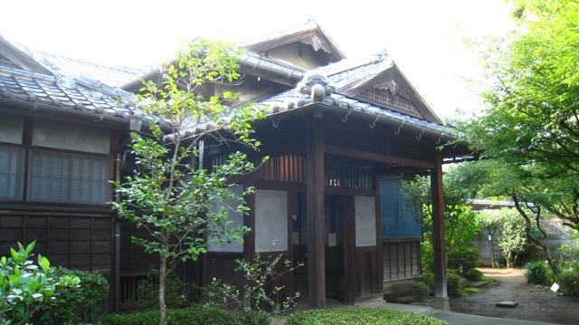 夏目漱石内坪井旧居(熊本市)