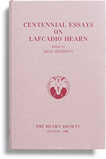Centennial Essays on Lafcadio Hearn